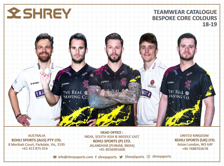 Shrey Teamwear Catalogue