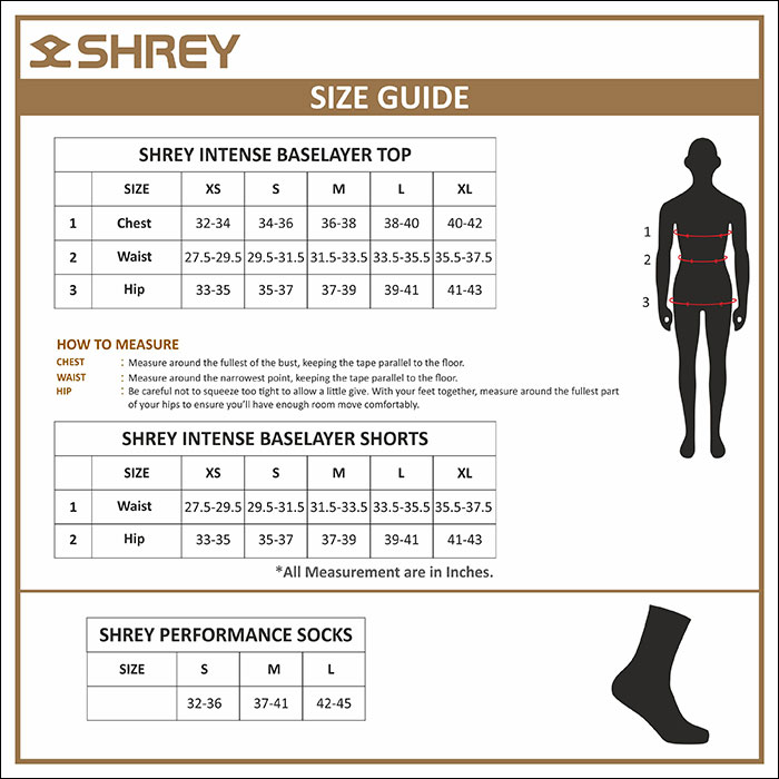 Womens tops and Bottoms Size Guide