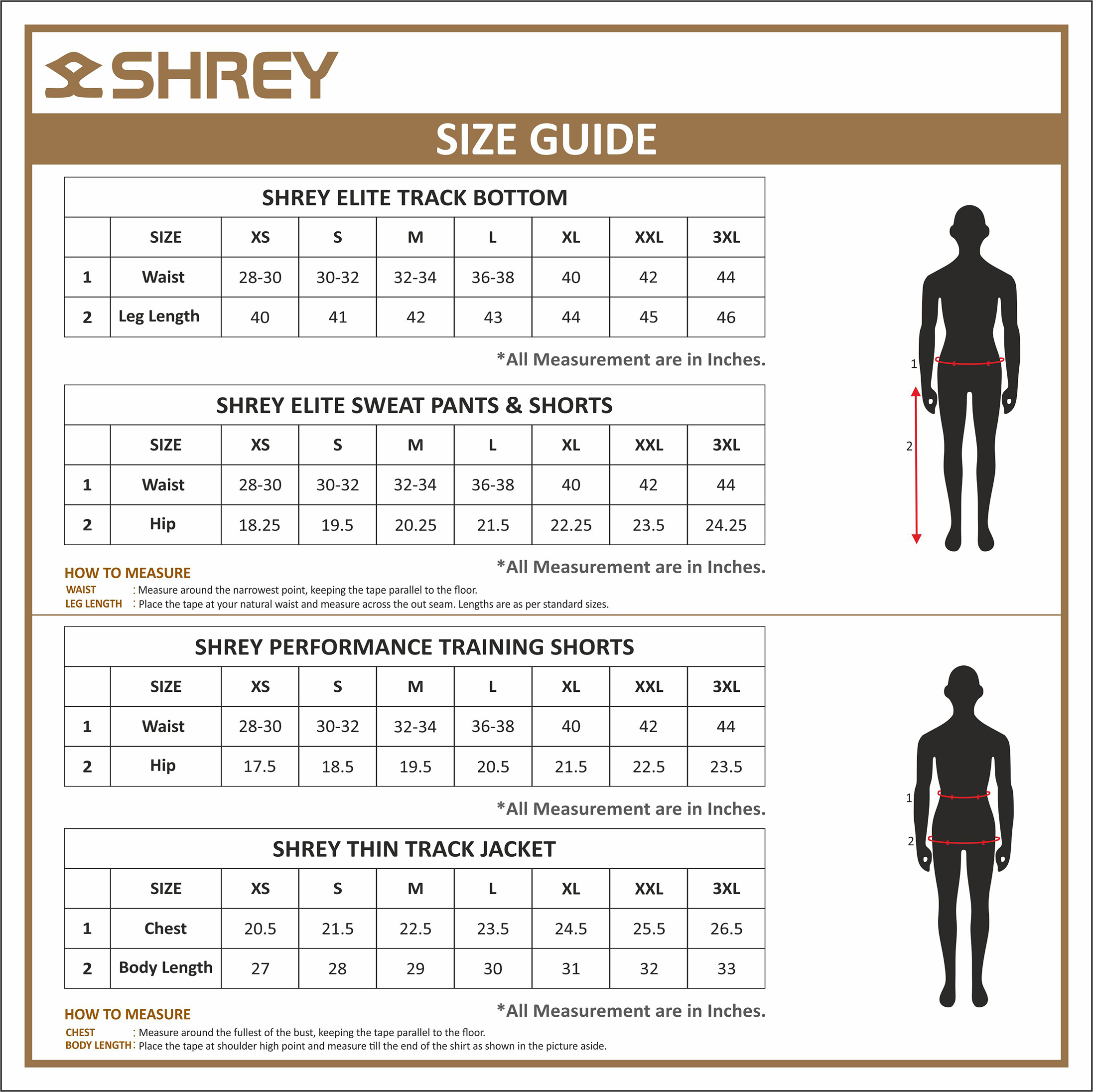 Kids tops and Bottoms Sizing