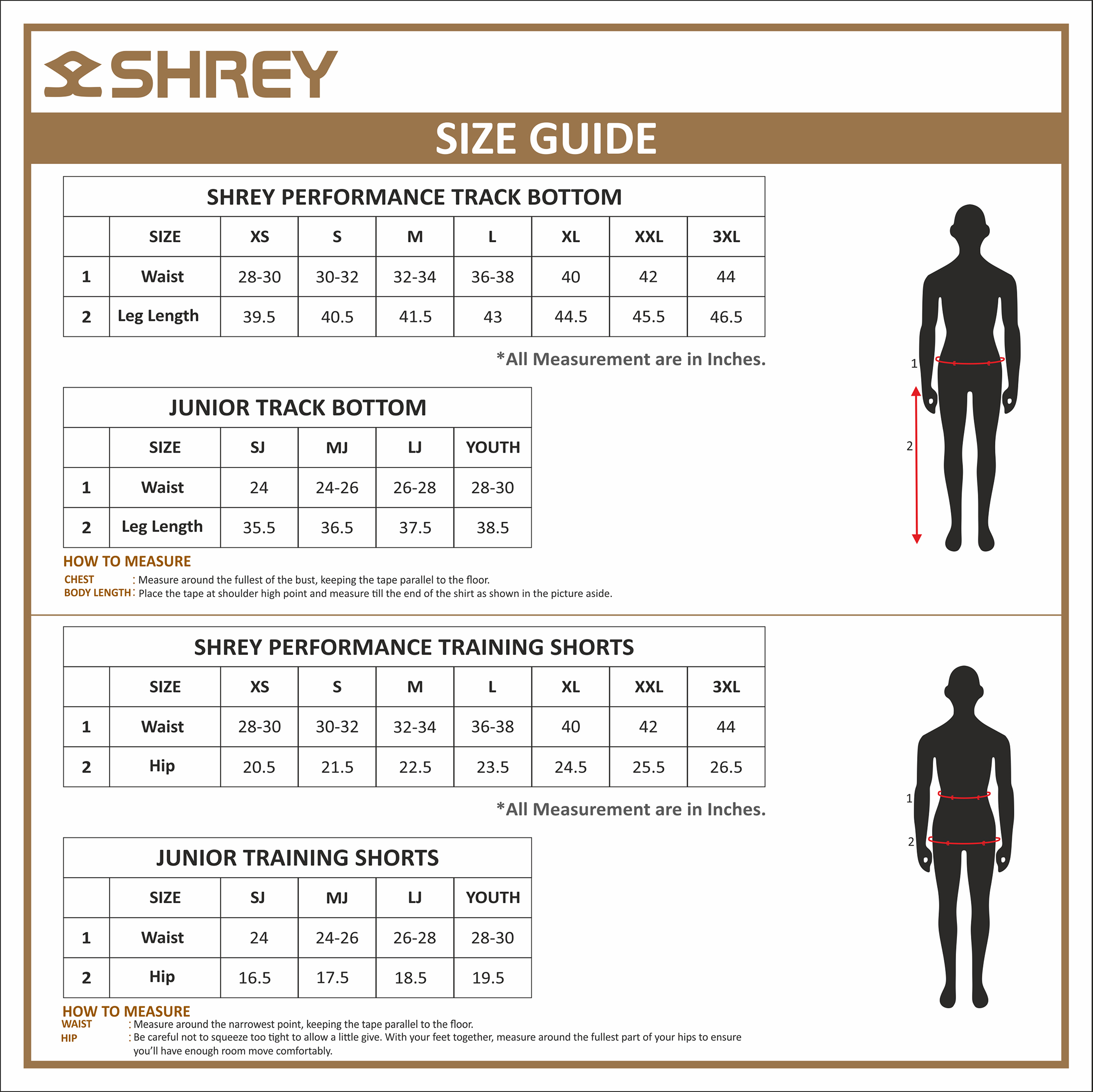 Hoodies and Sweaters Sizing